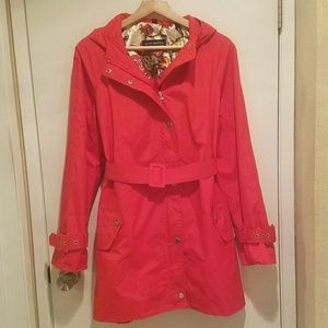 Steve Madden Hooded Trench Coat
